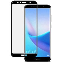 Icheckey 2.5D silk Tempered Glass protector Black pro Huawei Y6